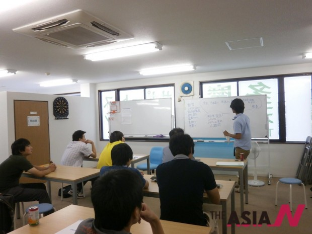 '타마 청년 서포트 스테이션'에서 열린 취업 특강