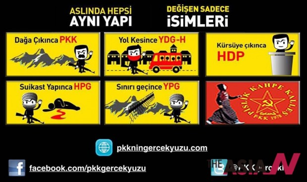HDP PKK YDG-H를 소개하는 애니메이션