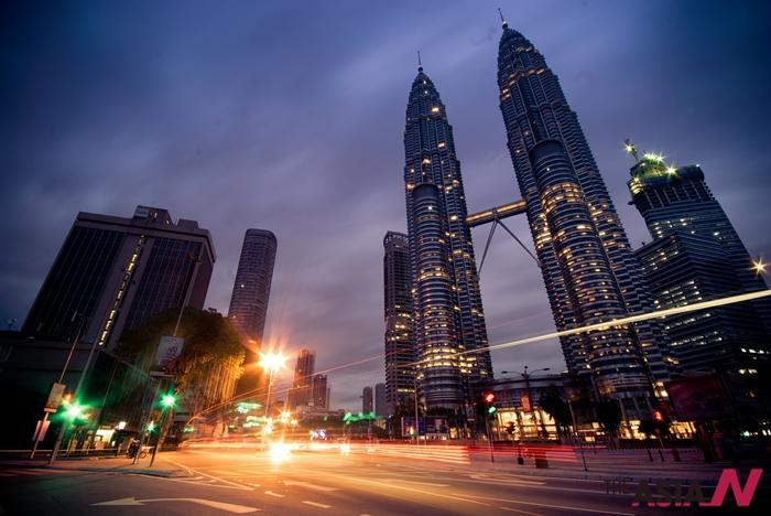 말레이시아 도심 풍경