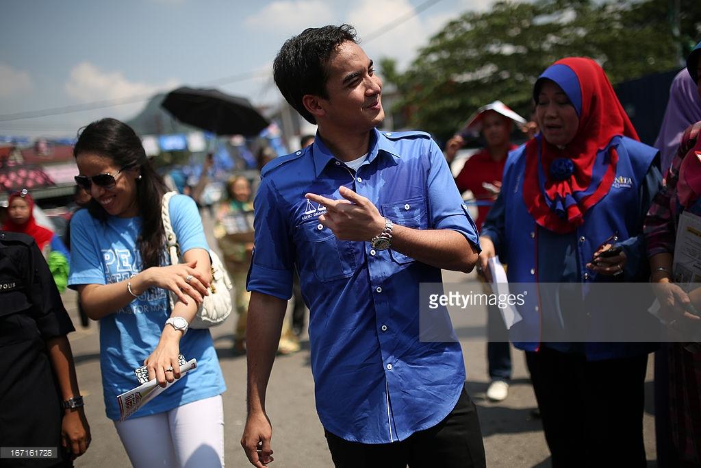 나집 라작 말레이시아 총리의 아들