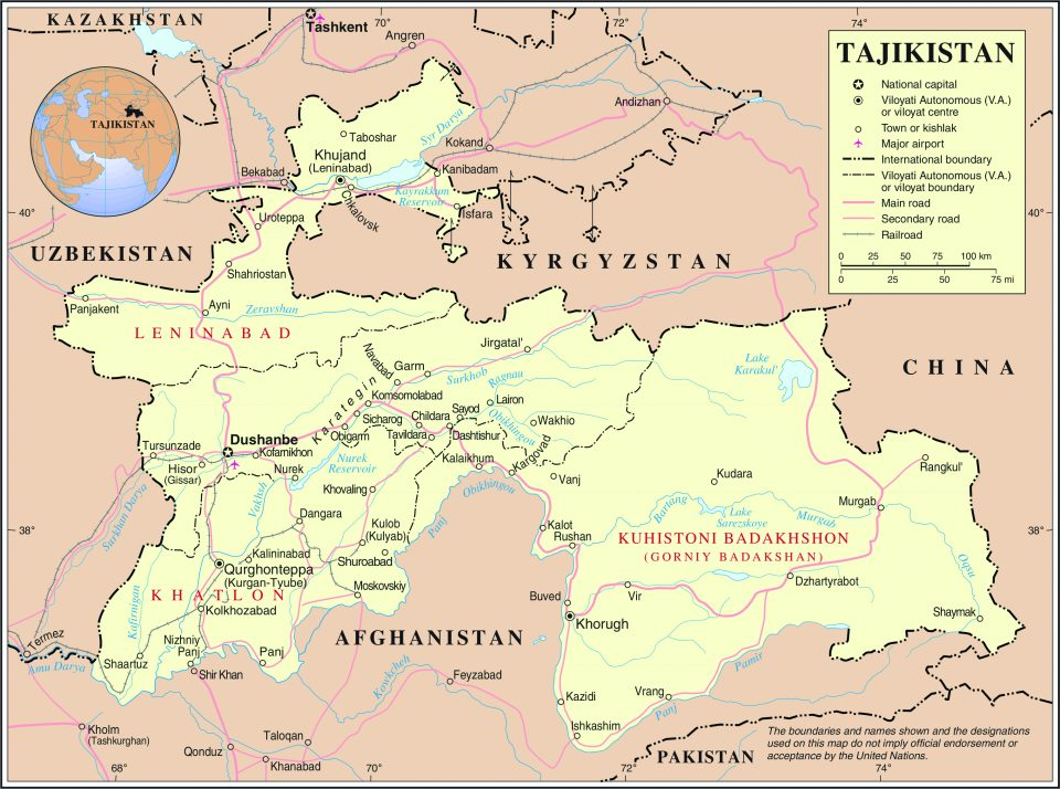 tacikistan-map