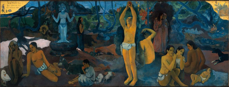 Paul Gauguin, Where do we come from What are we Where are we going, 1897~1898