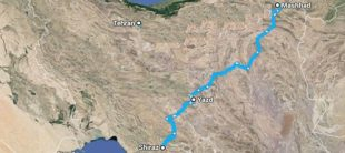 map-10-days-tehran-mashhad-shiraz-yazd-esfahan-ika