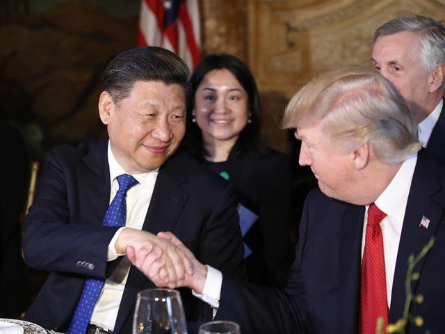 Image result for 트럼프 시진핑 무역전쟁