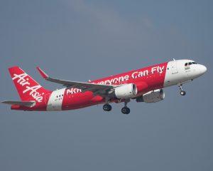 에어아시아의 비행기