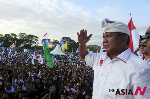 인도네시아 대선 '예측불허'···후유증 우려 고조